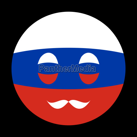 icon in colors of russian flag