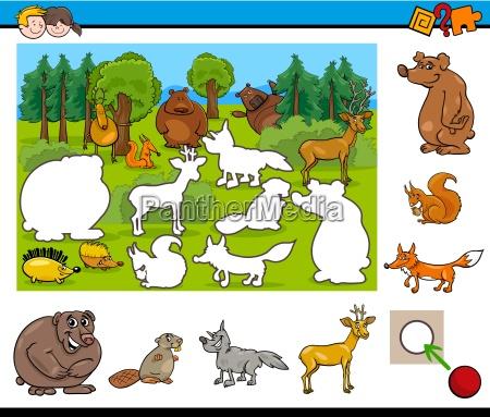 cartoon activity for kids