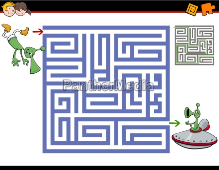 maze activity for kids