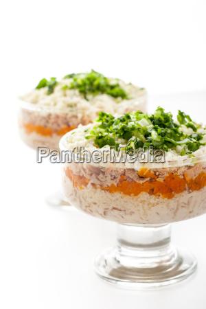 pescado vegetal zanahoria huevo huevo de