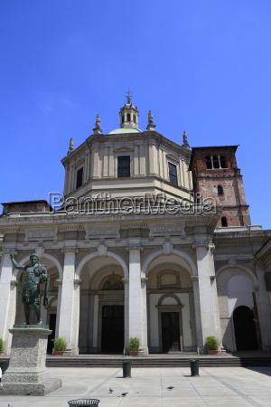basilica of san lorenzo maggiore