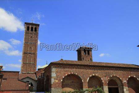 basilica of saint ambrose santambrogio in