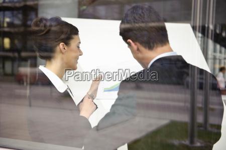 business, people, looking, at, paperwork - 18159506