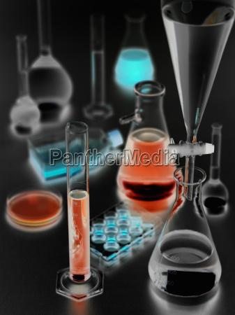 laboratory glassware cross processed