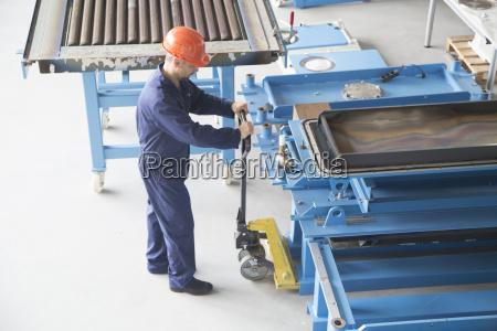 industria planta industrial masculino uniforme transporte
