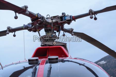 hubschrauber rotorblaetter ausschnitt