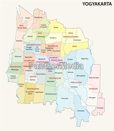 administrative und politische landkarte der indonesischen
