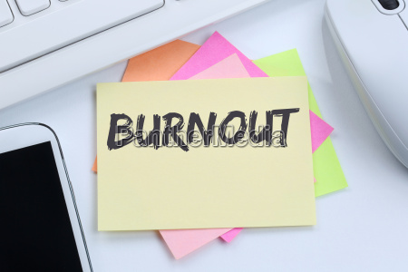 burnout sick disease in job stress