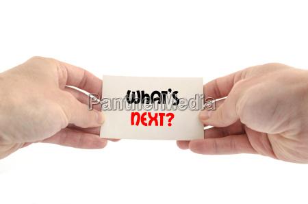 was ist der naechste textkonzept