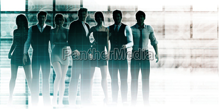 business team of executives