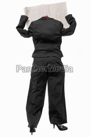 a female business suit with a