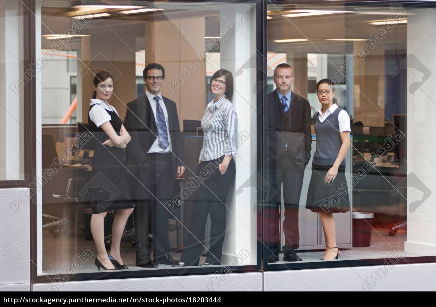 portrait, of, five, business, people - 18203444