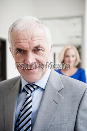 businessman portrait close up