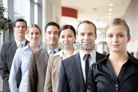 group shot of business people