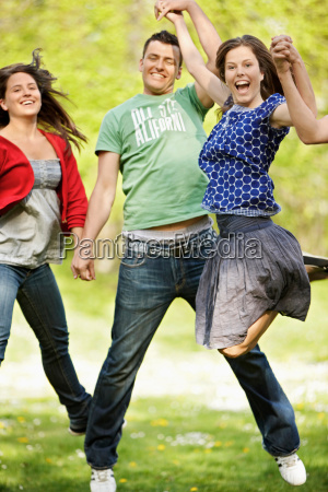 energetic, group, of, young, people - 18205846