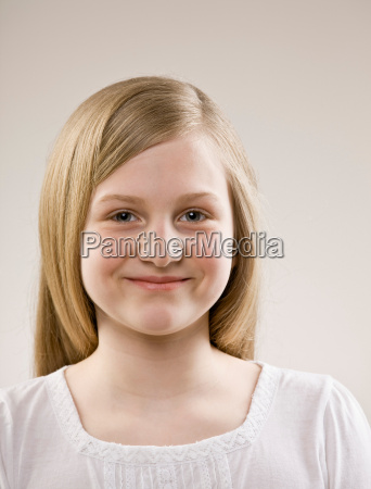 close, up, of, smiling, girl?s, face - 18208252