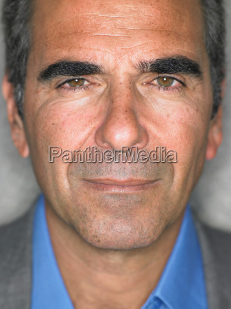 close up portrait of older mans