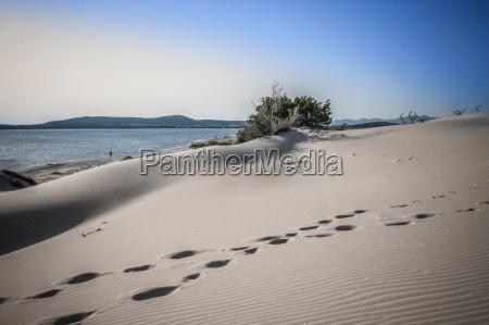 sand dunes cagliari sardinia italy