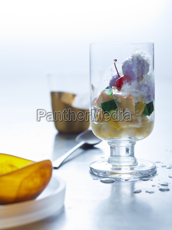still life with glass of halo