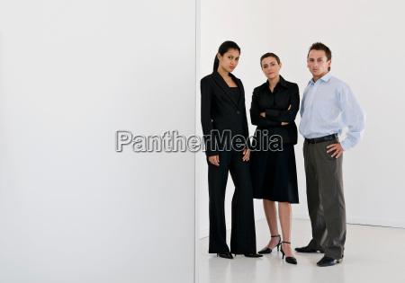 a portrait of business colleagues