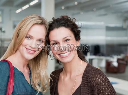 women shopping looking at viewer