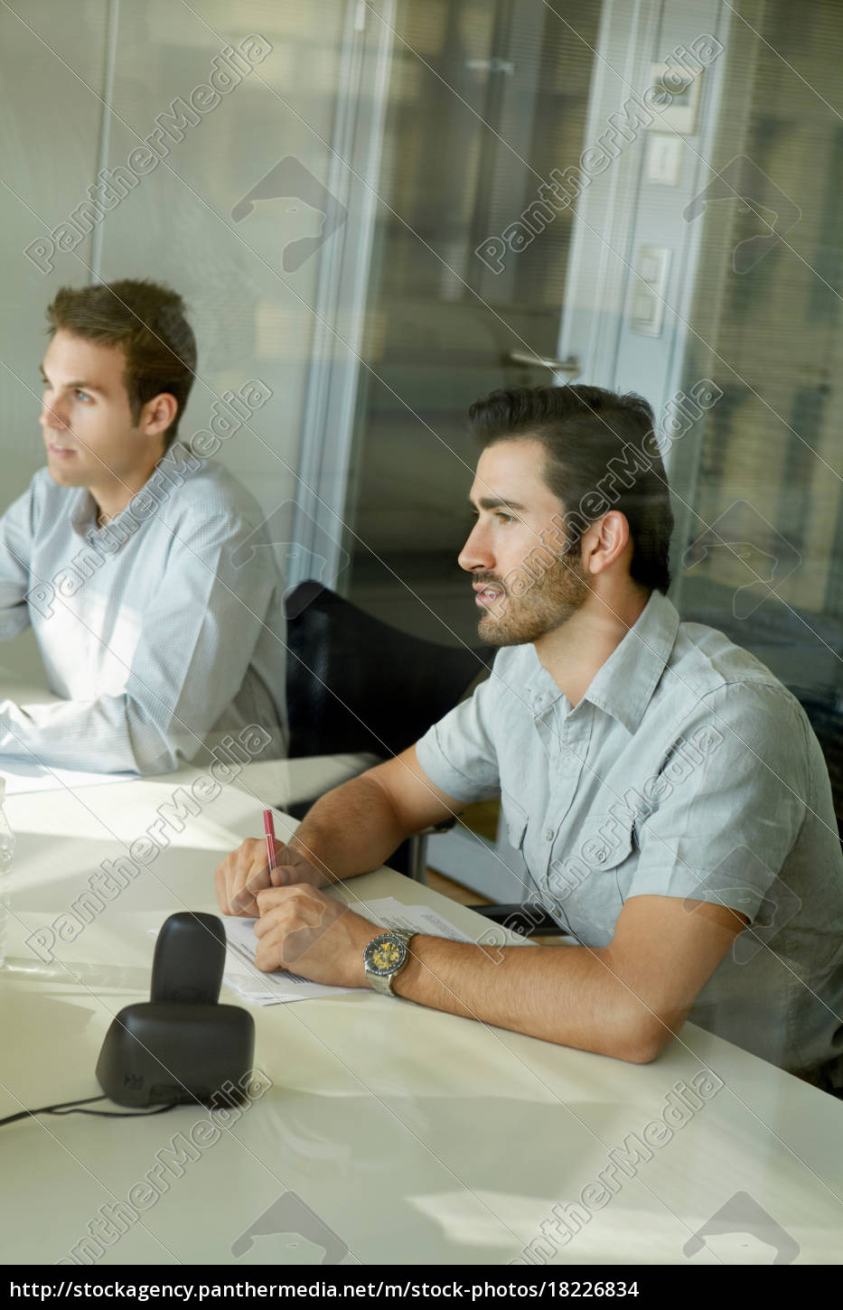 two, men, in, business, meeting - 18226834