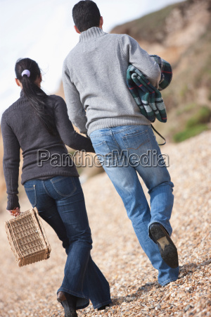 couple going for a picnic