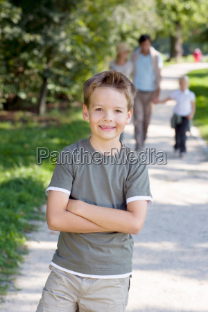 a portrait of a boy in