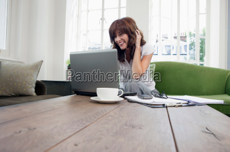 business women working on laptop on