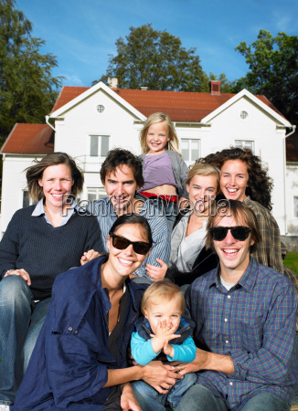 shoot of a group of people