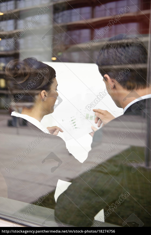 business, people, looking, at, paperwork - 18274756