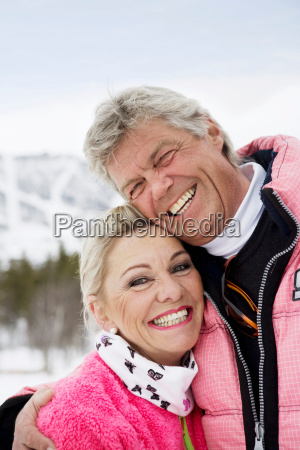 mature couple portrait