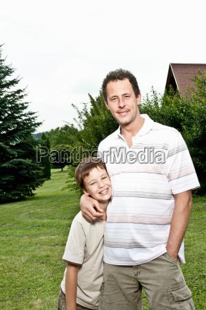 father son portrait