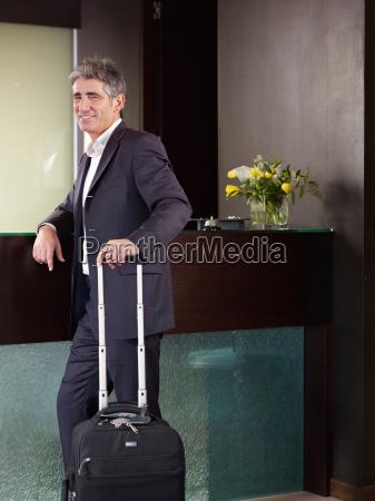 portrait of senior business man at