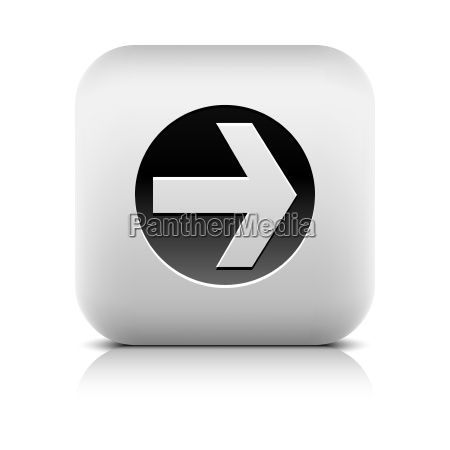 web icon with arrow sign in