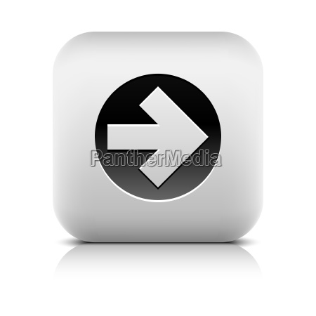 icon with black arrow sign in