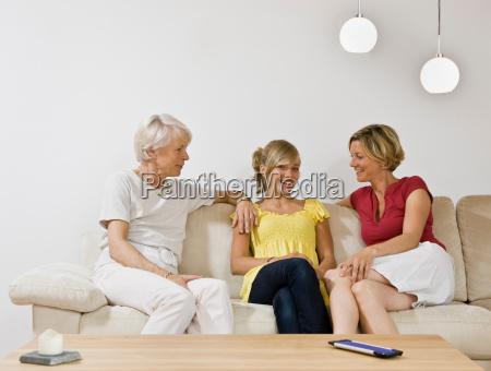 generation of women talking