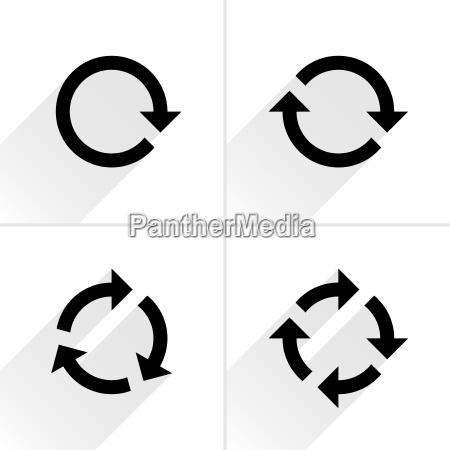 color arrow loop refresh reload rotation