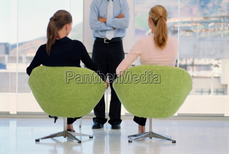 business people in meeting together