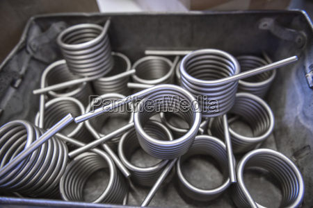 large amount of springs in testing