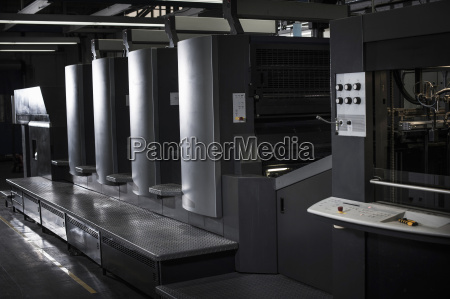 hi tech printing equipment in print