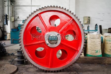 komponente rad industrie metall balance werk