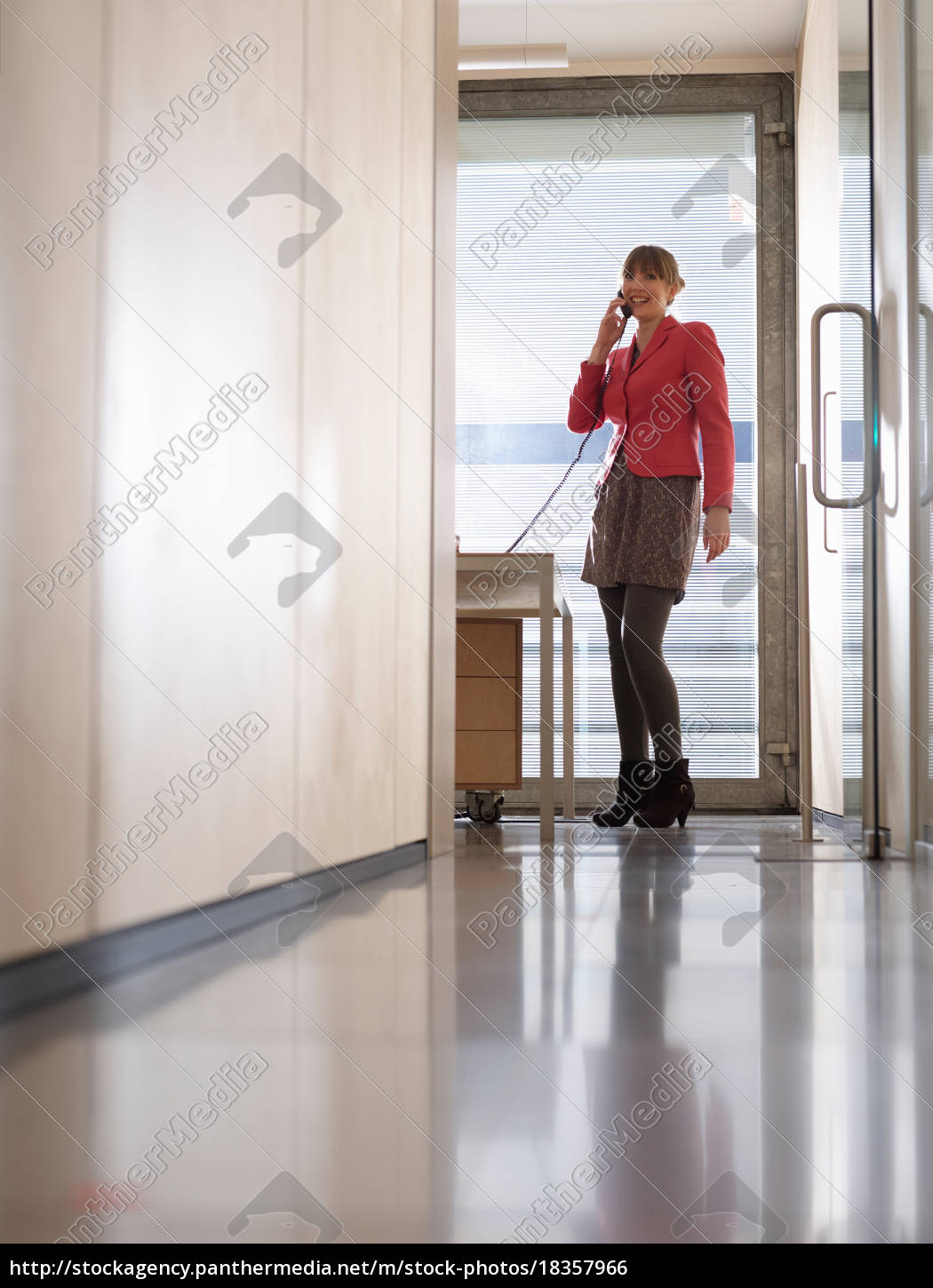 business, woman, in, office, on, the - 18357966
