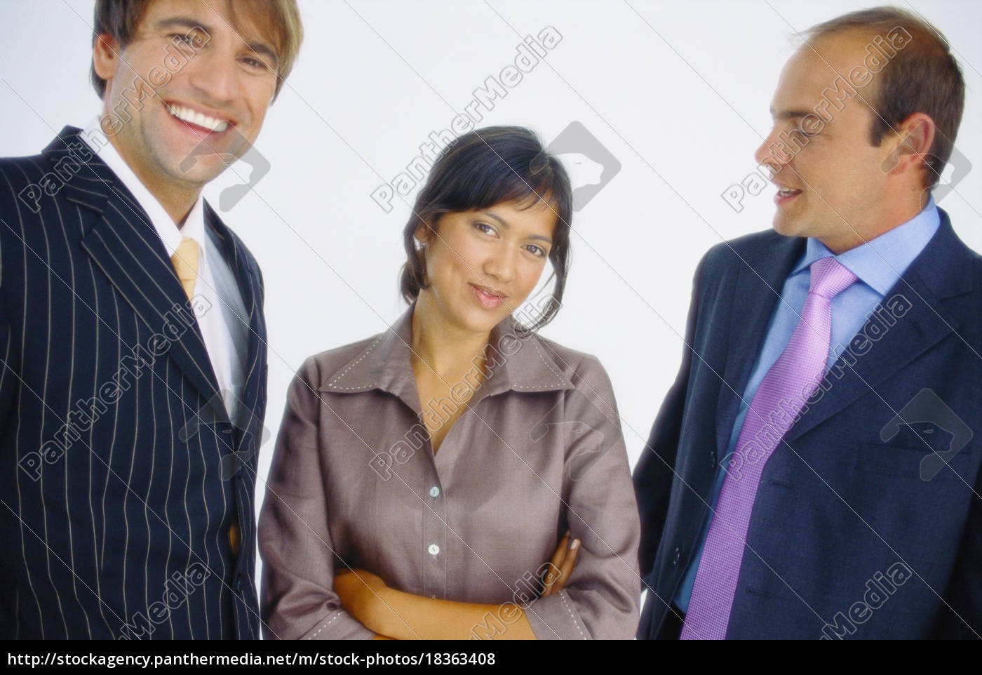 business, people, talking, in, office - 18363408