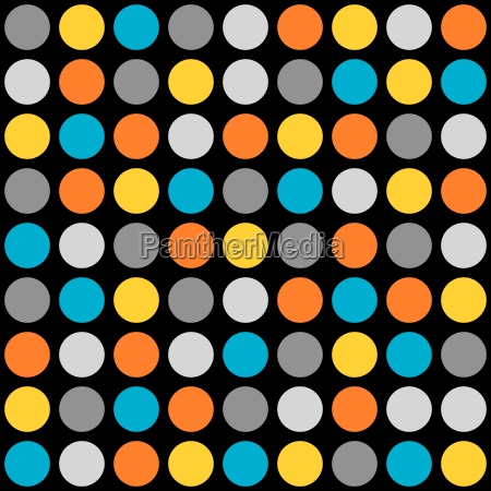 tile vector pattern with dots on