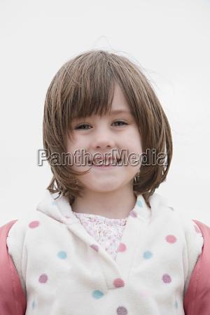 girl looking towards camera