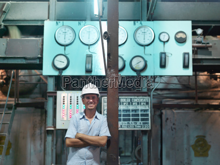 supervisor in sugar cane factory