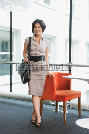 portrait of a business women