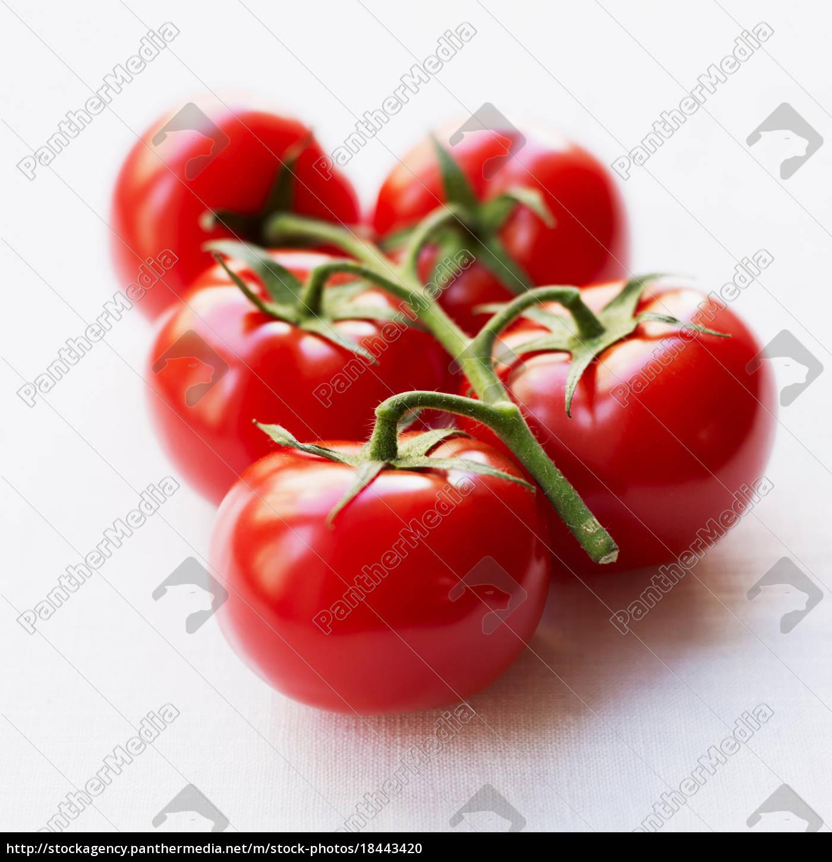 tomaten, auf, zweig - 18443420
