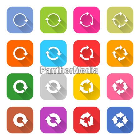 arrow icon refresh rotation reset repeat